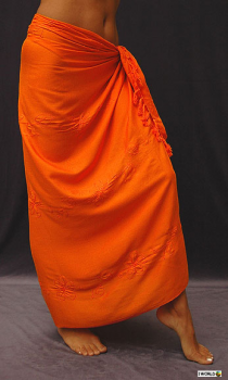 SARONG-KD-EMB-SINGLE-ORANGE